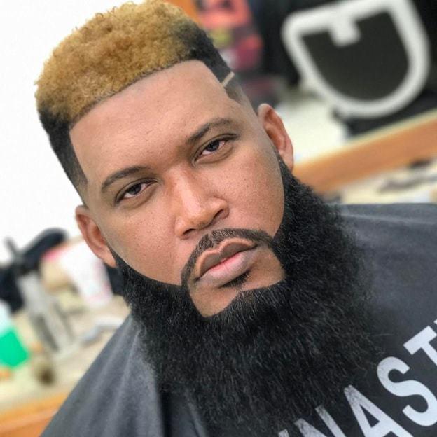 black-men-goatee-styles-9 35 Iconic Goatee Styles for Black Men [2019]
