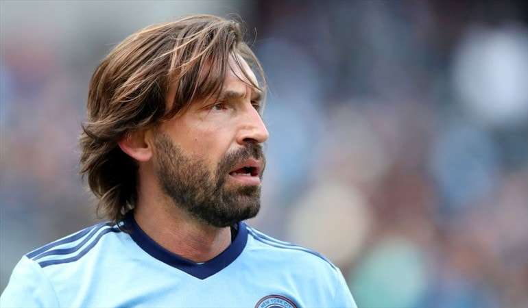 Pirlo-beard-style 3 Popular Footballers with Great Beards