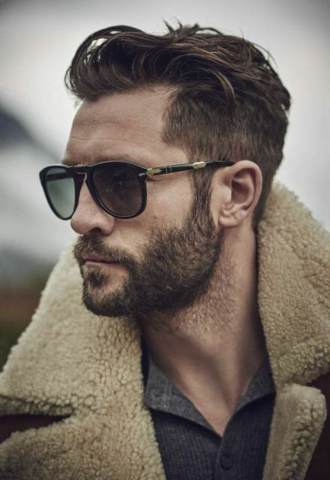 beard with natural outline