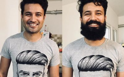 beard before and after looks