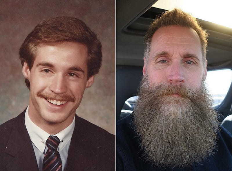 beard-before-and-after-10 45 Amazing Beard Before and After Transformation Photos
