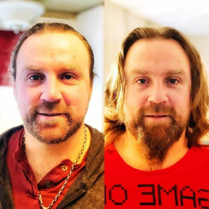 beard-before-and-after-18 45 Amazing Beard Before and After Transformation Photos
