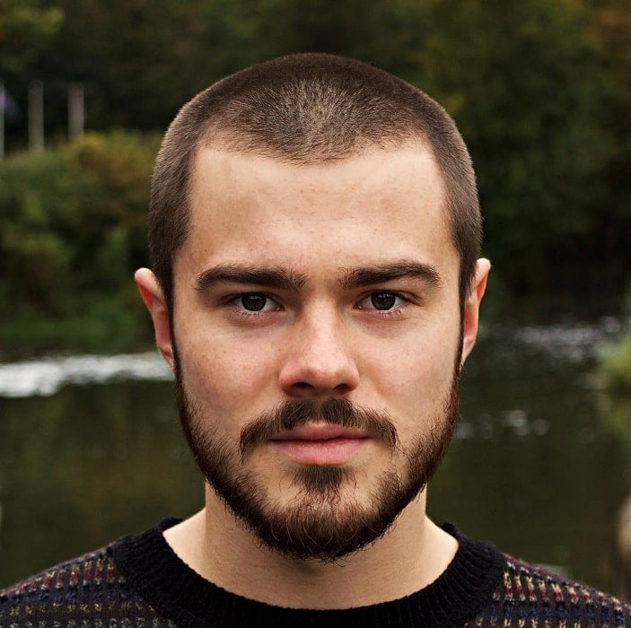 buzz-cut-with-beard-3 35 Buzz Cut Styles With Beards That'll Turn Heads