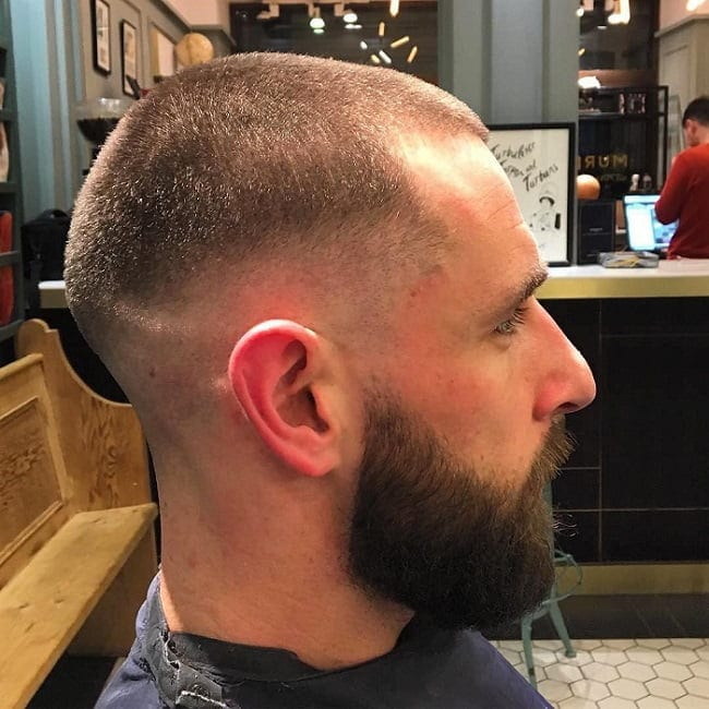 buzz-cut-with-beard-8 35 Buzz Cut Styles With Beards That'll Turn Heads