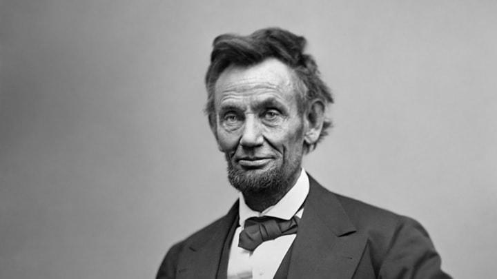 bearded president Abraham Lincoln
