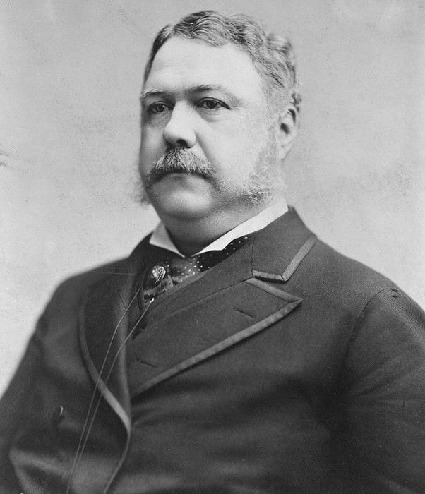 Chester-Arthur21 11 Famous Presidents With Beards and Mustaches