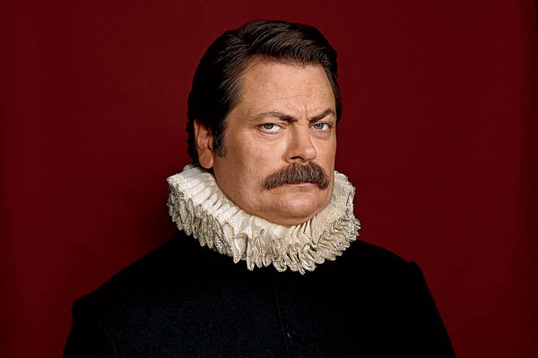 Nick-Offerman-walrus-mustache How to Grow & Style A Walrus Mustache: The Ultimate Guide
