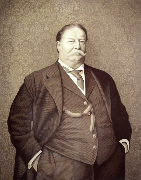 William-Howard-Taft27 11 Famous Presidents With Beards and Mustaches