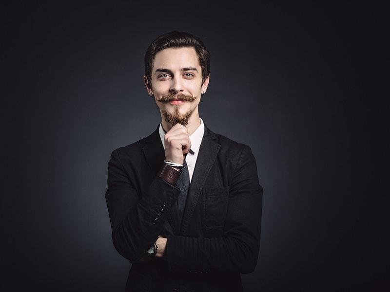 anchor mustache
