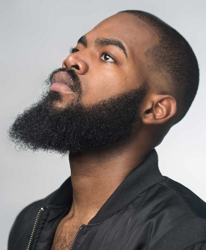 buzz-cut-with-long-beard 50 Buzz Cut Styles With Beards That'll Turn Heads