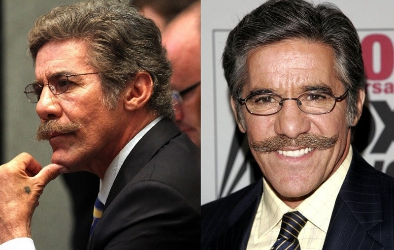 Geraldo Rivera's Handlebar Mustache