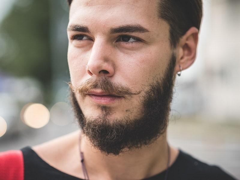handlebar mustache type