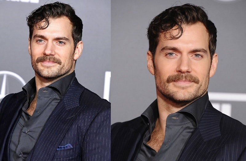 henry-cavill 11 of the Most Renowned Actors with Mustaches