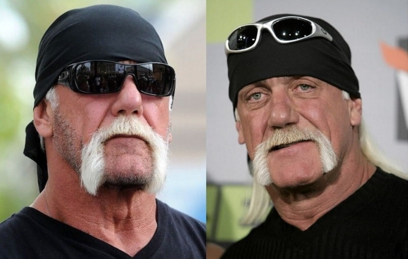 hulk-hogan 11 of the Most Renowned Actors with Mustaches