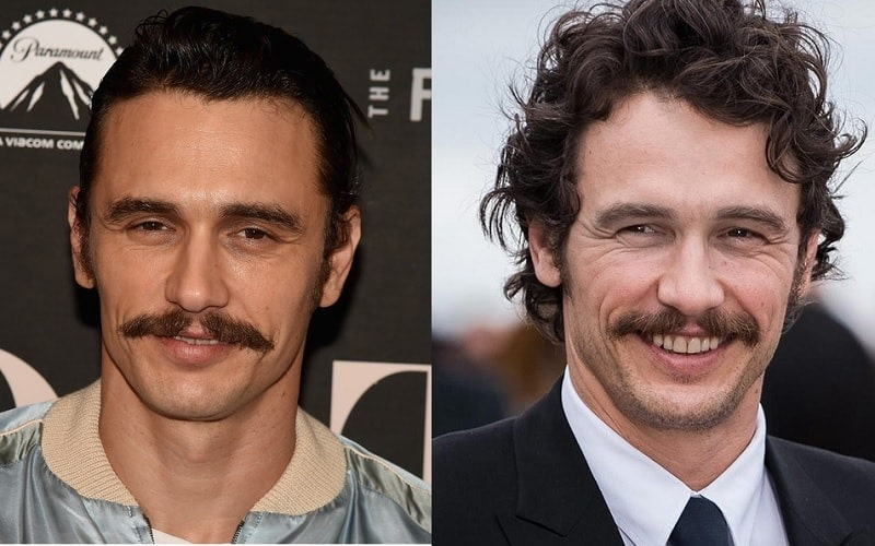 james-franco 11 of the Most Renowned Actors with Mustaches