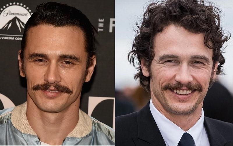 famous actors with mustache