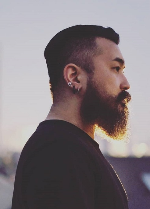 japanese-beard-1 7 of The Coolest Japanese Beard Styles to Try