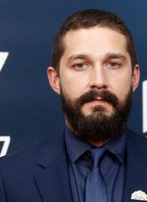 Shia LaBeouf beard styles