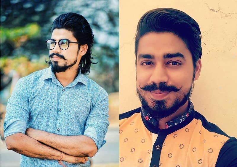 short-beard-long-mustache-4 7 Awesome Short Beard Styles With A Long Mustache