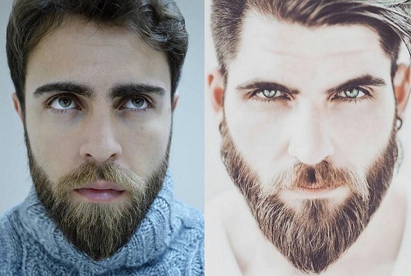 short-beard-long-mustache-5 7 Awesome Short Beard Styles With A Long Mustache