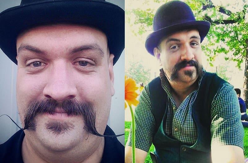 short-beard-long-mustache-7 7 Awesome Short Beard Styles With A Long Mustache