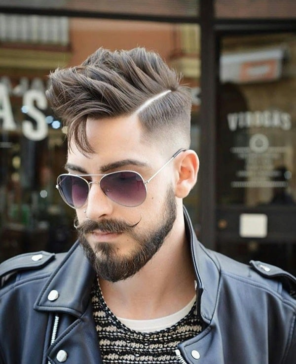 short-beard-with-long-mustache-3 7 Awesome Short Beard Styles With A Long Mustache