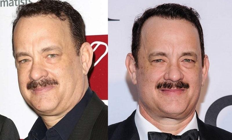 Tom Hanks's Short and Trimmed Mustache