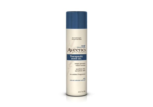 Aveeno-Therapeutic-Shave-Gel 12 Best-Selling Shaving Creams for Men Reviewed