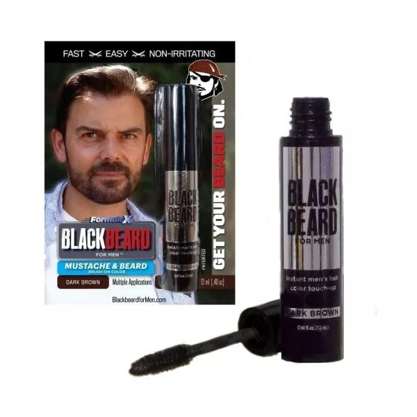 Blackbeard-for-Men-Instant-Brush-on-Beard-Mustache-Color Beard Coloring Guide: How to Dye & Top 5 Beard Dyes