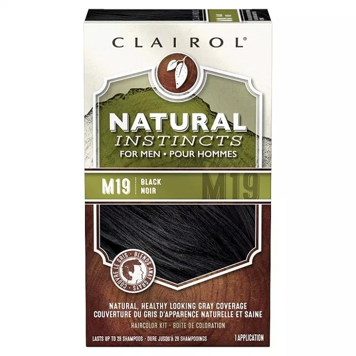 Clairol-Natural-Instincts-Semi-Permanent-Hair-Color-Kit-for-Men Beard Coloring Guide: How to Dye & Top 5 Beard Dyes