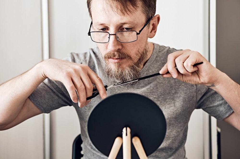 How to Trim a Van Dyke Beard
