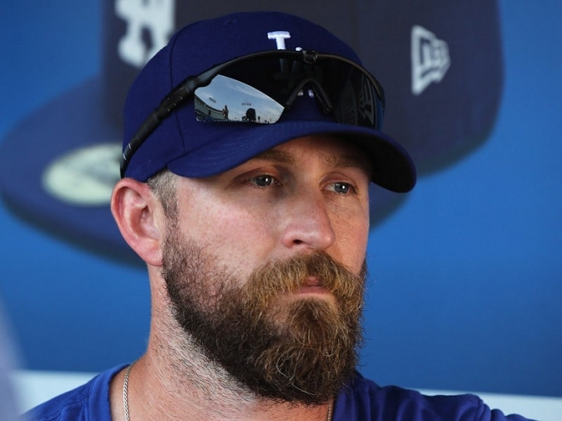 Josh-Fields 7 Greatest Baseball Players with Beards