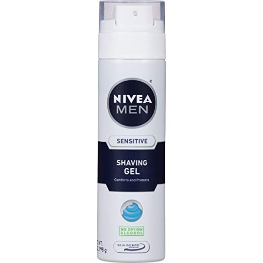 Nivea-for-Men-Sensitive-Shaving-Gel 12 Best-Selling Shaving Creams for Men Reviewed