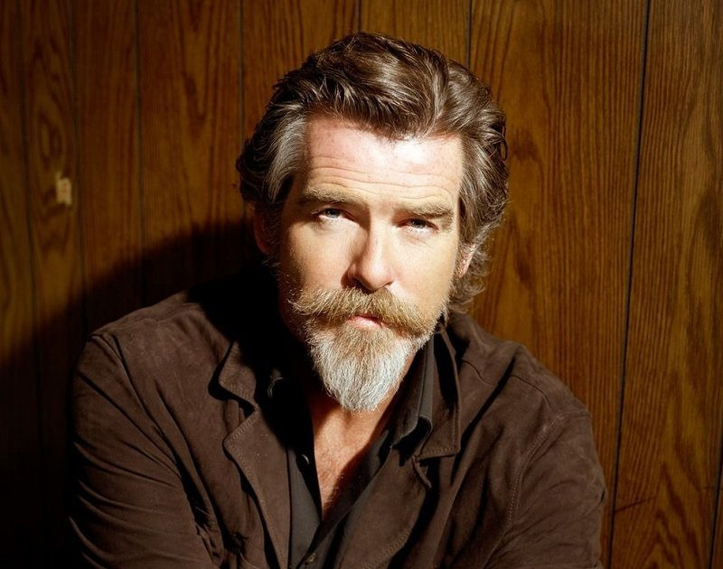 Pierce-Brosnan-with-ducktail-beard Ducktail Beard: How to Style & Groom Like A Boss