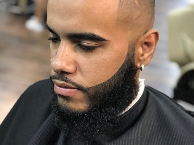 beard fibers