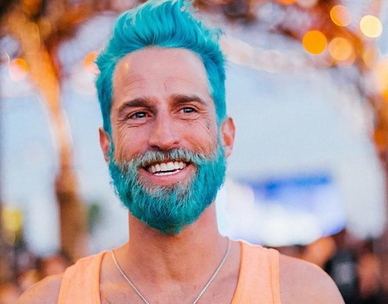 coloring beard