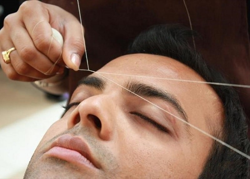 facial-hair-threading-1 How to Remove Unwanted Facial Hair Permanently
