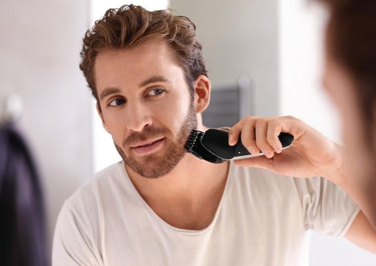 ways to trim and shape beard jawline