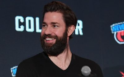 John Krasinski with Full Beard