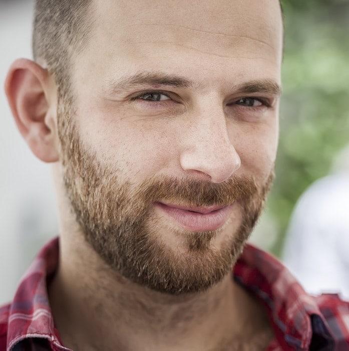 sexy stubble beard style