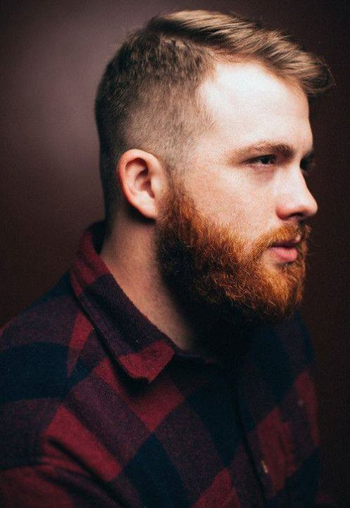 brown-hair-with-red-beard-10 15 Ways to Style Brown Hair with Red Beard