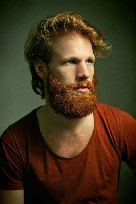 brown-hair-with-red-beard-11 15 Ways to Style Brown Hair with Red Beard