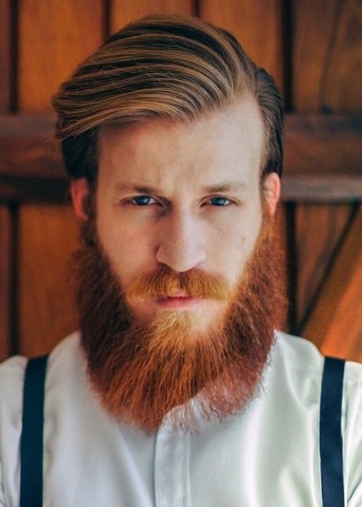 brown-hair-with-red-beard-14 15 Ways to Style Brown Hair with Red Beard