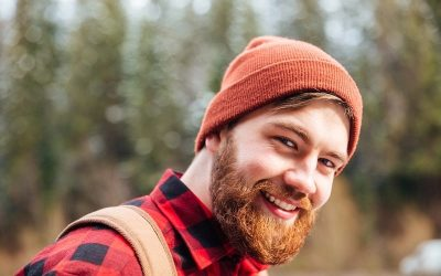 guy with brown hair and red beard