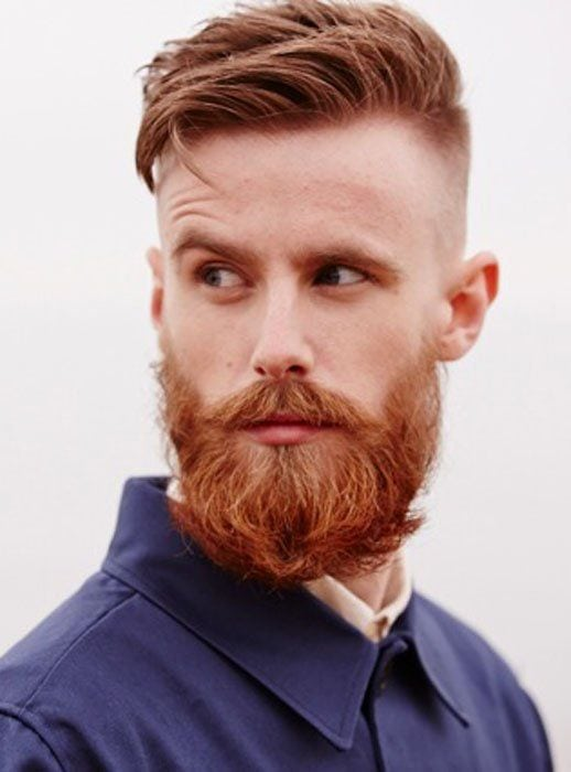 brown-hair-with-red-beard-2 15 Ways to Style Brown Hair with Red Beard