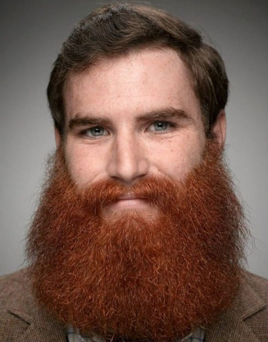 brown-hair-with-red-beard-5 15 Ways to Style Brown Hair with Red Beard