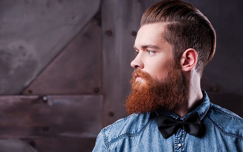 brown-hair-with-red-beard-8 15 Ways to Style Brown Hair with Red Beard