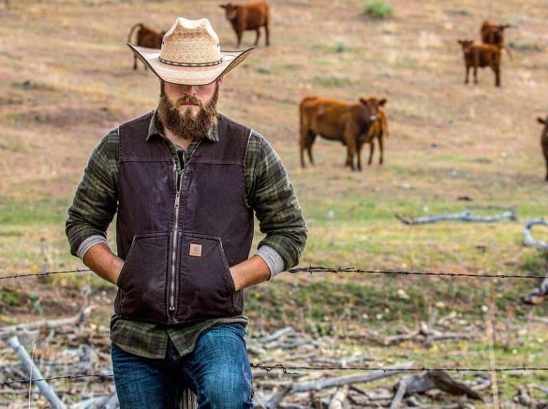 cowboy-beard-7 15 Popular Cowboy Beard & Mustache Styles