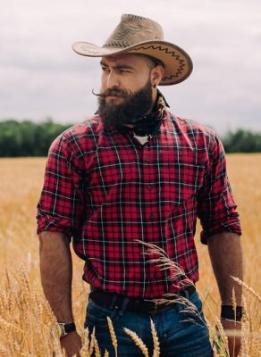 guy with cowboy beard