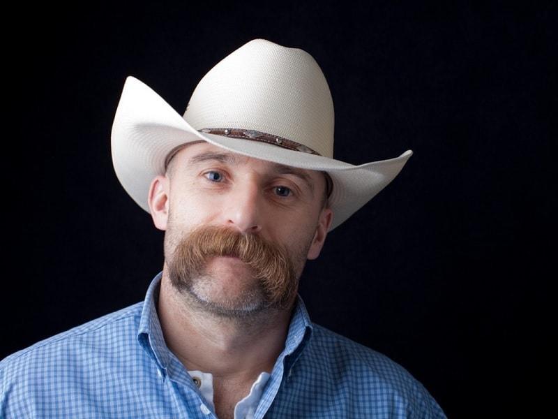 cowboy-mustache-1 15 Popular Cowboy Beard & Mustache Styles